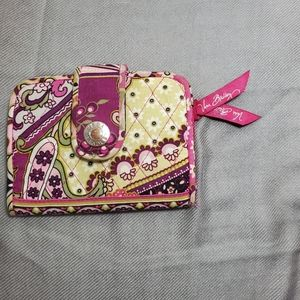 Vera Bradley Single Fold Wallet